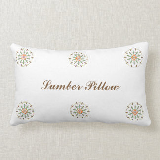Calming Kaleidoscope Pattern Lumber Pillow