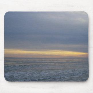Calming Seashore Sunset Mouse Pad