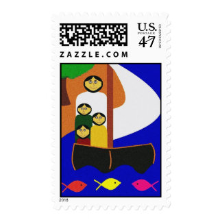 CALMING THE STORM POSTAGE STAMP