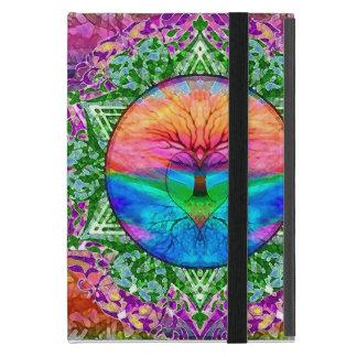 Calming Tree of Life in Rainbow Colors Case For iPad Mini