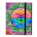 Calming Tree of Life in Rainbow Colors iPad Cover (<em>$42.20</em>)