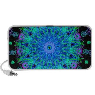 Calming Water Mandala Design Notebook Speaker