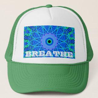 Calming Water Mandala Design Trucker Hat