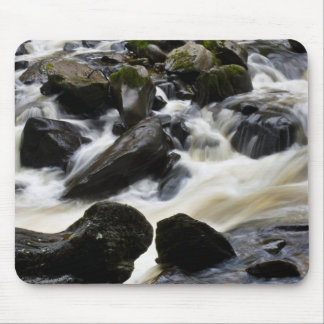 Calming waterfall mouse pad
