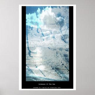 Calmness del mar poster