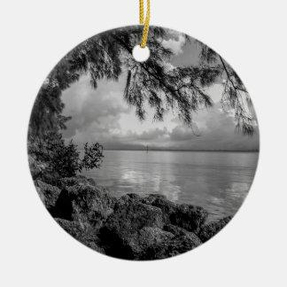 Caloosahatchee Calusa Blueway River Florida Ceramic Ornament