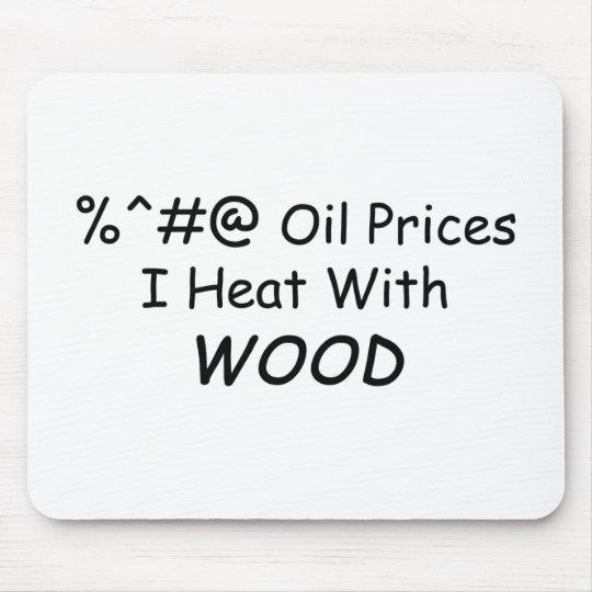 Calor de los precios del petróleo de %^&@ I con la Mouse Pads