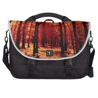 Calor del bosque bolsas de portátil