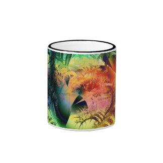 Calor tropical taza a dos colores