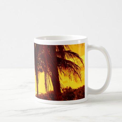 Calor tropical taza de café