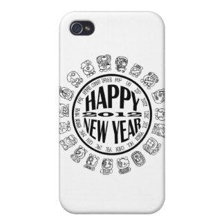 caloría-nuevo año maya iPhone 4/4S carcasas