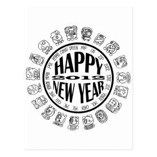 caloría-nuevo año maya postales