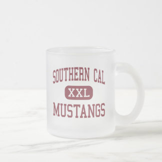 Calorías meridionales - Mustangos - altos - ciudad Taza Cristal Mate