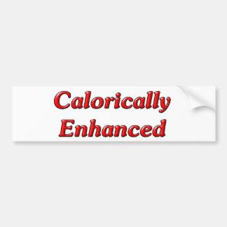 Calorically Enhanced Car Bumper Sticker