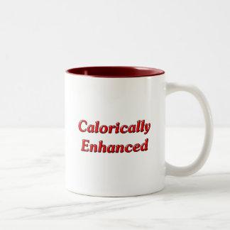 Calorically Enhanced Two-Tone Coffee Mug