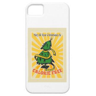 Calorie Free Christmas Tree Tape Measure iPhone 5 Covers