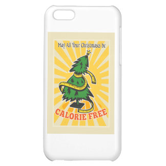Calorie Free Christmas Tree Tape Measure iPhone 5C Cover