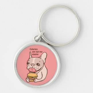 Calories are not my Enemy Keychain