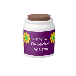 Calories for Later Jar Candy Jar