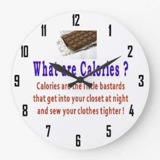CALORIES WALL CLOCK
