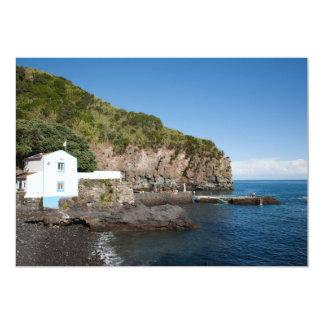 Caloura, Azores islands Card