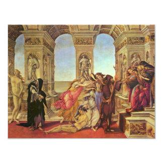 Calumny Of Apelles By Botticelli Sandro Personalized Invitation