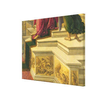 Calumny of Apelles: detail showing part of the pod Canvas Print