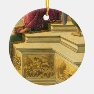 Calumny of Apelles: detail showing part of the pod Ceramic Ornament
