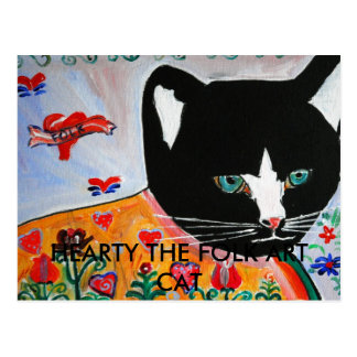 CALUROSO EL CAT DEL ARTE POPULAR TARJETAS POSTALES