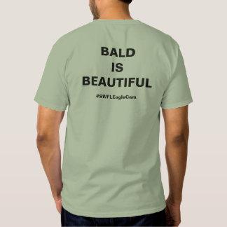 Calva es la camiseta hermosa de Eagle calvo Remera