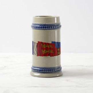 Calvados, Basse-Normandie & France flags Coffee Mug