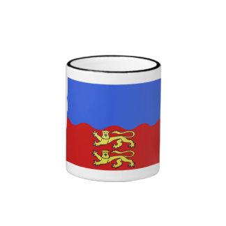 Calvados flag coffee mugs