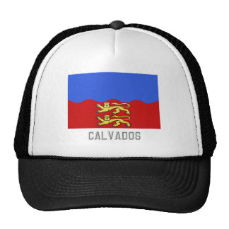 Calvados flag with name trucker hats
