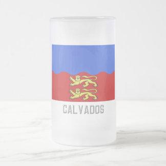 Calvados flag with name coffee mug