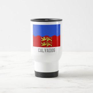 Calvados flag with name mugs