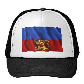 Calvados waving flag mesh hats
