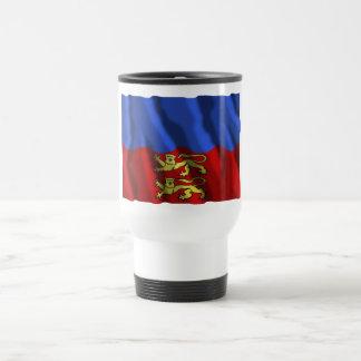 Calvados waving flag mugs