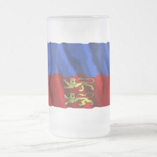 Calvados waving flag mug