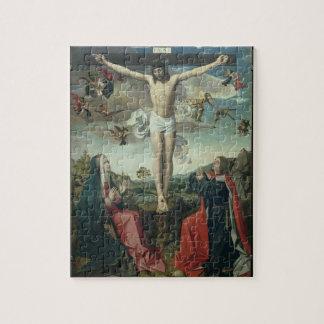 Calvary (aceite en el panel) 2 puzzles con fotos