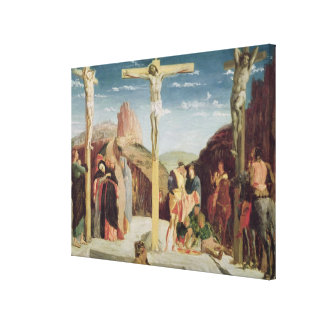 Calvary, after a painting by Andrea Mantegna Canvas Print