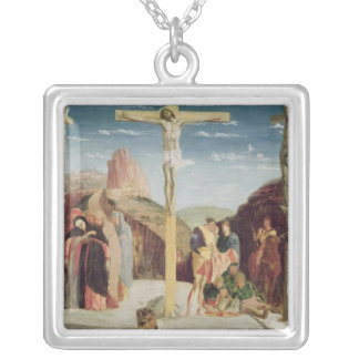 Calvary, after a painting by Andrea Mantegna Personalized Necklace