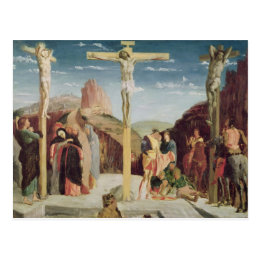 Calvary, after a painting by Andrea Mantegna Postcard