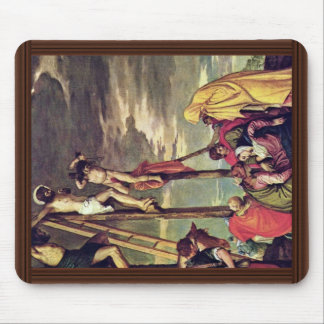 Calvary By Veronese Paolo Best Quality Mousepads