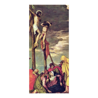 Calvary By Veronese Paolo (Best Quality) Custom Rack Card
