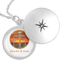 Calvary christian gifts locket necklace
