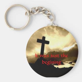 Calvary cross Key chain