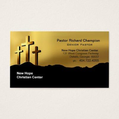 Pastor business card zazzle colourmoves