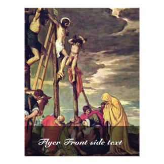 Calvary de Veronese Pablo (la mejor calidad) Flyer A Todo Color