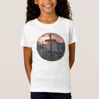 calvary digital art cross T-Shirt