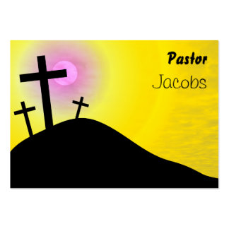 Calvary, Pastor, Jacobs Large Business Cards (Pack Of 100)